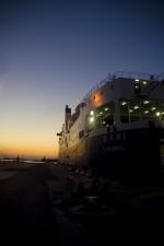 Night Ferry Across the Adriatic
