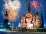 New Year, Red Square